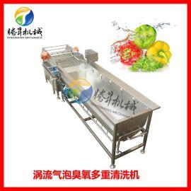 大型涡流洗菜机 旋流洗菜机 加大型洗菜机厂家