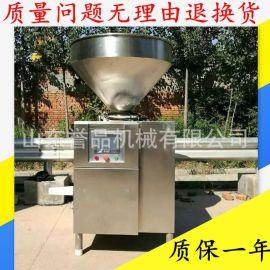 四川腊肠真空灌装机 扭结定量一体机 全自动香肠液压灌肠机多少钱