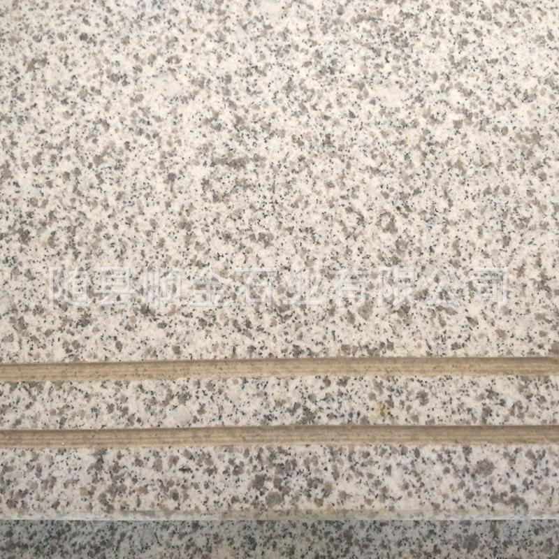 长期批发 磨光面环保白麻石材 白麻光面楼梯批发 品质保证