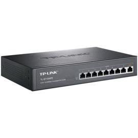 TP-LINK TL-SF1009PE 9口百兆8口POE非網管POE交換機