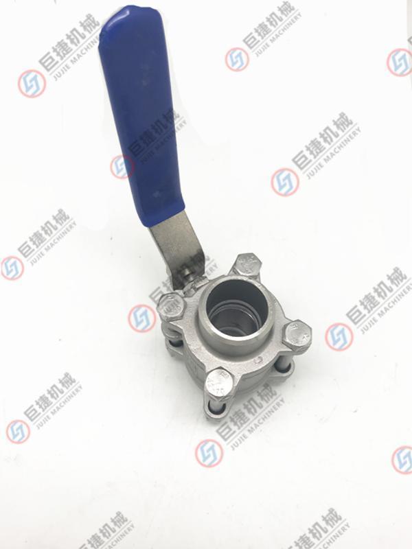 现货供应不锈钢三片式球阀 直通球阀,对焊直通球阀 304手动球阀