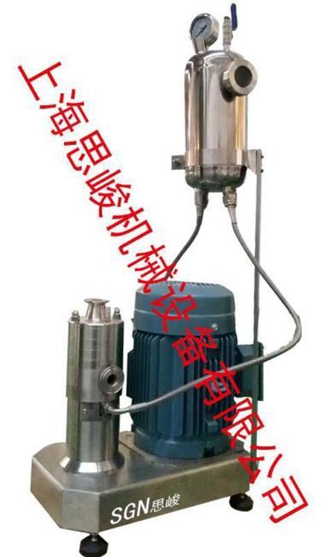 厂家直销 SGN/思峻 GM2000系列泡沫浴剂胶体磨 满足工业生产