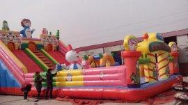 疯狂企鹅城堡充气城堡,儿童游乐设备,游乐场室内设备玩具