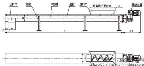 粉末上料机 定制蛟龙提升机 密封圆管式上料机