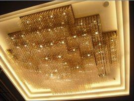 酒店大堂水晶吸顶灯