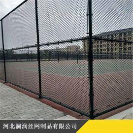 厂家直销包塑勾花网 体育运动场围栏热镀锌勾花网