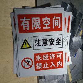 有限空间警示牌 有限空间作业安全告知牌版面设计介绍