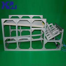 第三代精益管线棒重型自动回箱物料架