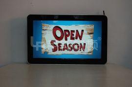 触摸一体机莱斯威顿-触摸屏显示器22寸高清壁挂式液晶广告机