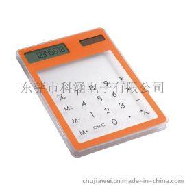 厂供新奇特 触摸屏计算器 太阳能计算器 ABS塑胶 八位数显 满足日常四则运算