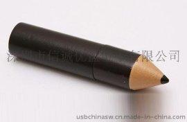 铅笔造型USB 个性化U盘定制 礼品u盘生产 定制形状USb usb disk