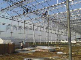 内蒙古玻璃温室价格/内蒙古玻璃温室建造/温室大棚骨架图纸设计-河南歌珊温室工程有限公司