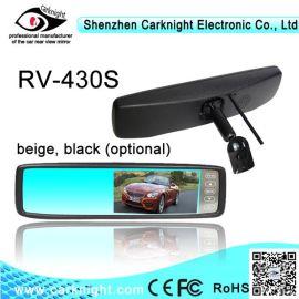 4.3寸专车专用触摸屏后视镜显示器,倒车后视镜,可视内视镜