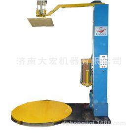 托盘缠绕机 电子产品缠绕包装机 气动压顶式缠膜机