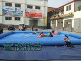 大型户外充气水池 支架水池 充气游泳池 移动水上乐园