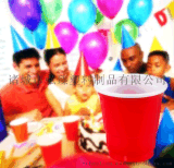 2盎司雙色杯 2 oz試飲杯 一次性彩色塑料杯 一次性PARTY杯