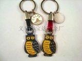 供應貓頭鷹鑰匙扣 款式新穎個性定製 鑰匙扣首選