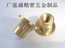 M3铜螺母,M3热熔螺母五金生产工厂