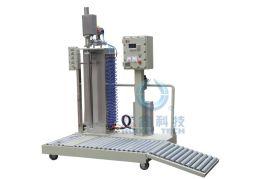 辉鑫DCS200BFB-YX200KG自动计量液体粉体灌装机