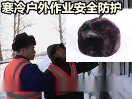 厂家推出新品羊剪绒棉安全帽 防寒保暖 批发全网低价格