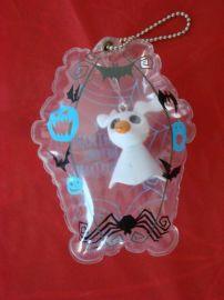 PVC吹氣吊牌 包包掛飾 鑰匙掛飾
