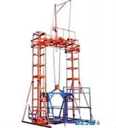 工地上用24米龙门架升降机