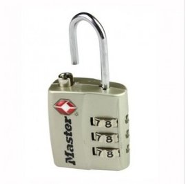 TSA系列密码挂锁4680DNDKL (灰色)