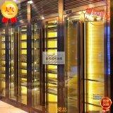 廠家生產不鏽鋼酒櫃 不鏽鋼酒架定製 恆溫酒櫃 黑鈦不鏽鋼酒櫃