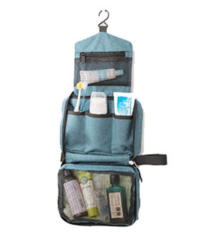 便携式旅行洗漱包旅游防水收纳包四方包化妆包厂家生产定做