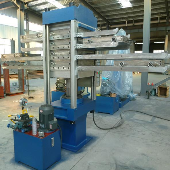 50T橡胶地砖平板硫化机