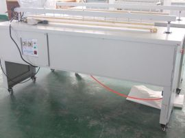 1.6米气动落地式塑料薄膜封口机