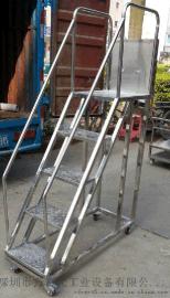 不锈钢登高梯专业定做工厂