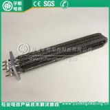 【宇恆電熱】方型法蘭翅片式電加熱管 大功率加熱管 翅片式電熱管