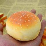 厂家直销 订做仿真食物食品模型 开口汉堡面包 慢回弹仿真面包