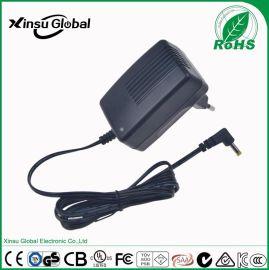 12v2a电源适配器 6级能效 欧规CE GS LVD认证 12v2a电源适配器