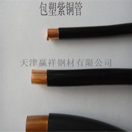 大量直銷包塑銅管 紫銅管 紫銅方管 可加工