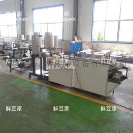 鲜豆家仿手工千张百叶机 全自动豆腐皮机干豆腐机厂家