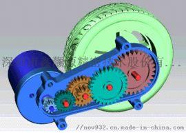 扫卷吸拖四合一扫地机器人齿轮箱设计与制造厂