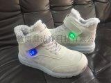石墨烯充电发热鞋男女款冬季保暖鞋马丁靴