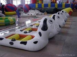 水上蹦蹦床 充气蹦床 水上皮筏艇 水上充气游乐设备