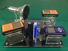 LH-308 太阳膜展示套件太阳膜隔热性能展示台中空夹胶隔热玻璃图层涂料测试仪