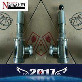 卫生级不锈钢304 316L安全阀 快装螺纹活接安全阀