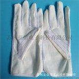 防静电PU涂掌手套 PU条纹手套