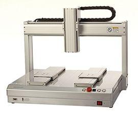 格帝斯高效连续性 双移动轴 投光灯自动点胶机