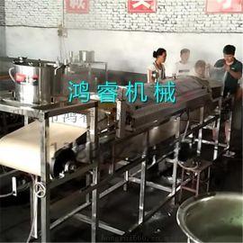 供应小型蒸汽粉皮加工机 全自动红薯粉皮机 高品质