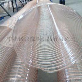 pu聚氨酯钢丝管、钢丝增强管山东诺成橡塑厂家销售