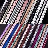 汕头龙琦耐高温pet珠片片材散片绣品厂家直销 金葱粉荧光透明多种系列