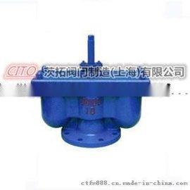 销售法兰铸铁QB2-10Q双口排气阀