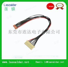 彩排线束S端子线电子电气内部连接线导线延长线生产厂家