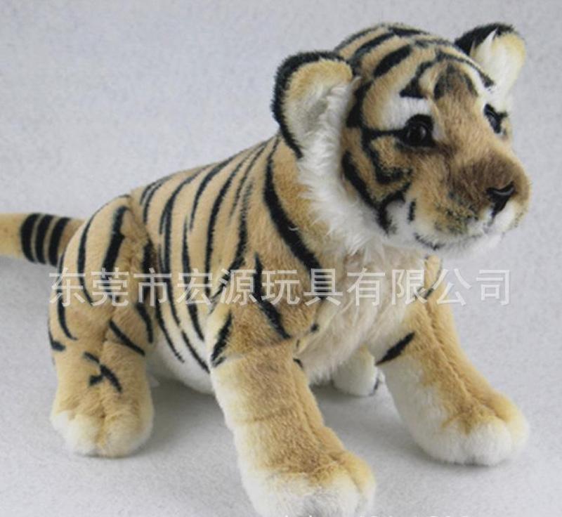 生产创意卡通毛绒玩具老虎 卡通可爱动漫玩偶老虎可加LOGO